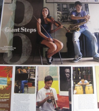 pictures from Hawaiian Airlines in-flight magazine