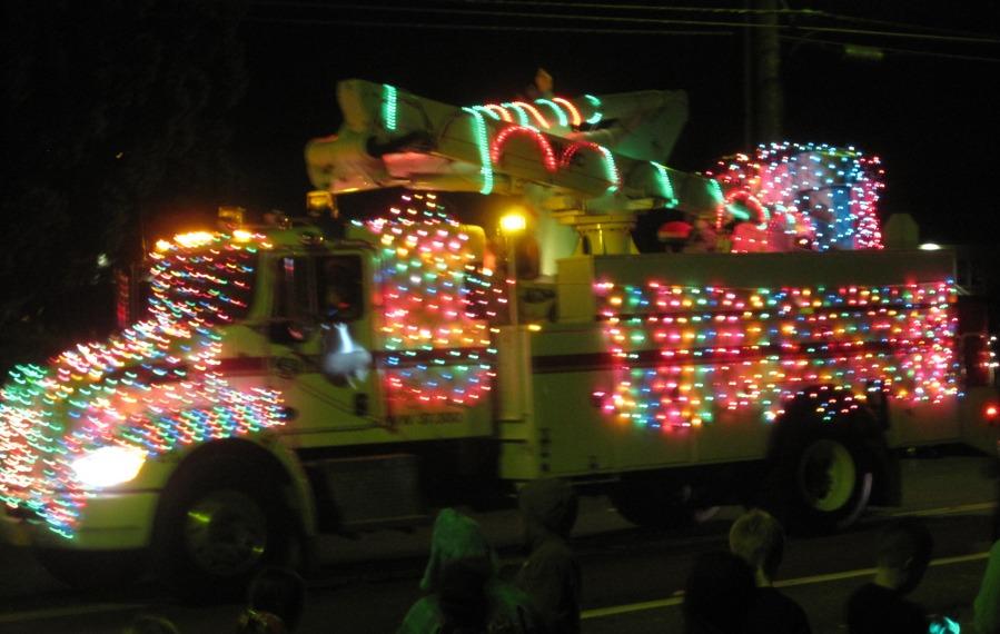 Helco truck at parade