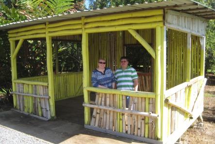 Wendy and Bob at shack