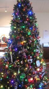 Aluminum Christmas Tree Light