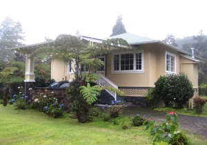 The Ola'a Plantation House, part of Kilauea Lodge