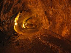 Thurston Lava Tube; photo in public domain.