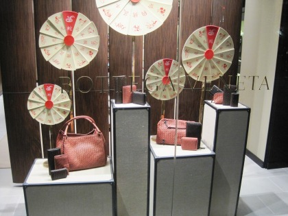 Bottega Veneta window