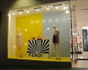 Fendi - no one in the shop