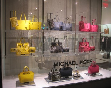 Michael Kors window