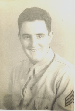 My Dad in his Army uniform