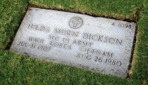 Punchbowl - woman grave