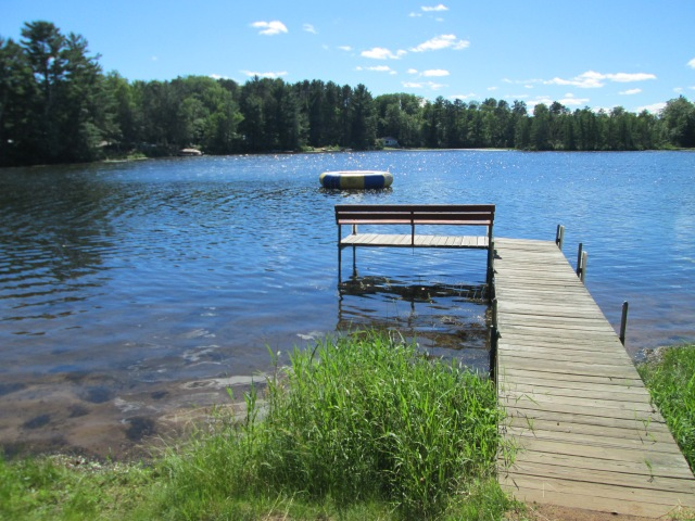 our dock in sunshine
