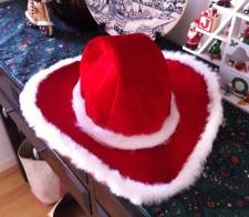 Cowboy Santa Hat