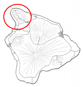 BI map circle on Kohala