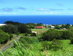 Honokaa as seen from highway 19