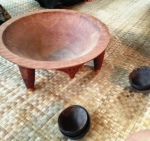 the kava making bowl