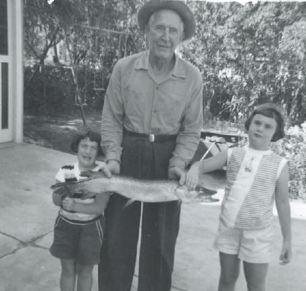 Grandpa Di and Nanc w fish