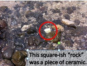 rock was ceramic