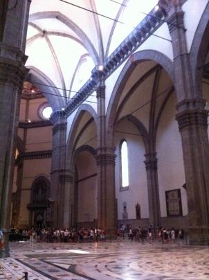 ibterior of Basilica di Santa Maria del Fiore