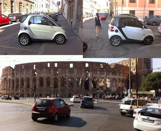 Rome traffic