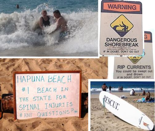 Dangers of Hapuna Beach