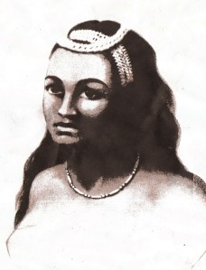 Queen Kaahumanu - Source Louis Choris 1816