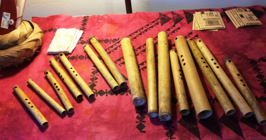 'ohe hano ihu, the bamboo flute (for) nose