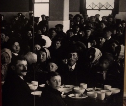 feeding the people who had to wait at Ellis Island
