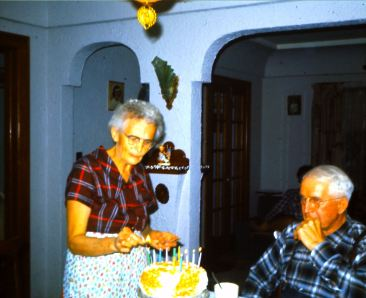 grandma grandpa in their house