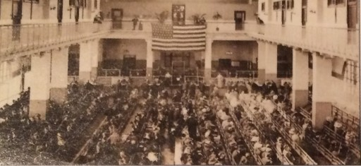 Photo from National Park Service Brochure on Ellis Island