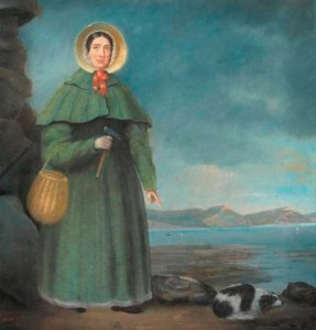 Mary Anning_portrait 1842