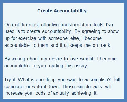 creating accountability