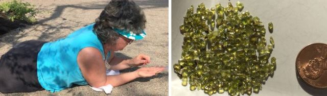 find olivine