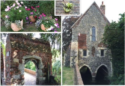 Greyfriar Chapel, arch and flowers