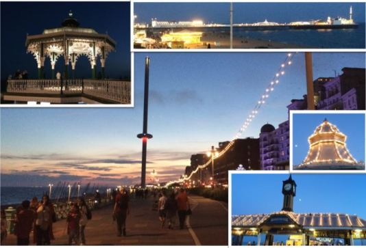 Evening in Brighton
