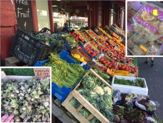 grocer display
