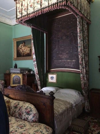 Queen Victoria's bed where she died