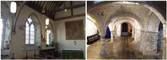 chapel-and-undercroft of Eastbridge Hospital
