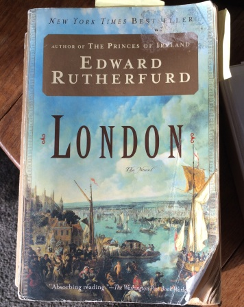 Edward Rutherfurd's book, London