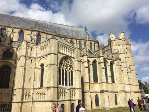 External view of Canterbury Cathedral