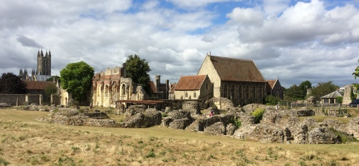 Destruction of St Augustine's Abbey